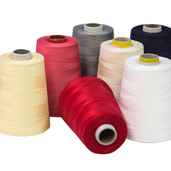 100%  Natural Cotton Sewing Threads